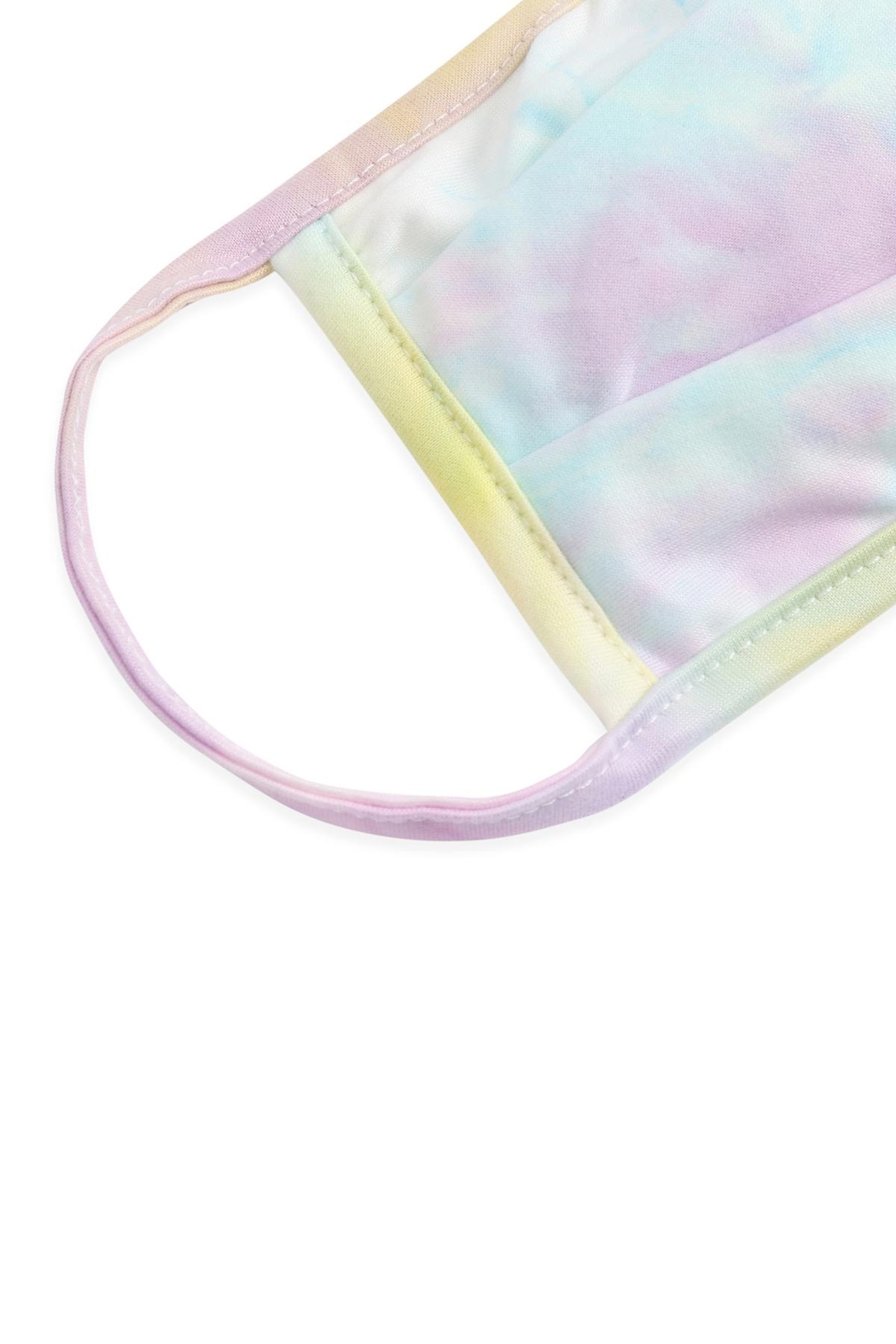 Riah Fashion Tie-Dye-Reusable-Pleated-Face-Masks-For-Adults - Front Full Image