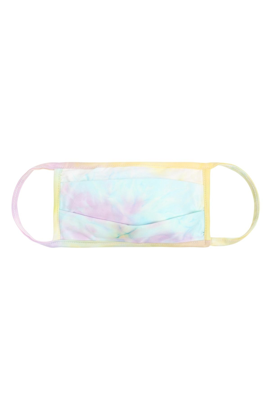 Riah Fashion Tie-Dye-Reusable-Pleated-Face-Masks-For-Adults - Front Cropped Image