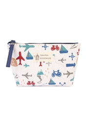 Riah Fashion Travel Print  Cosmetic Pouch - Product Mini Image