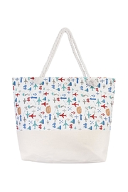 Riah Fashion Travel Print Tote - Product Mini Image