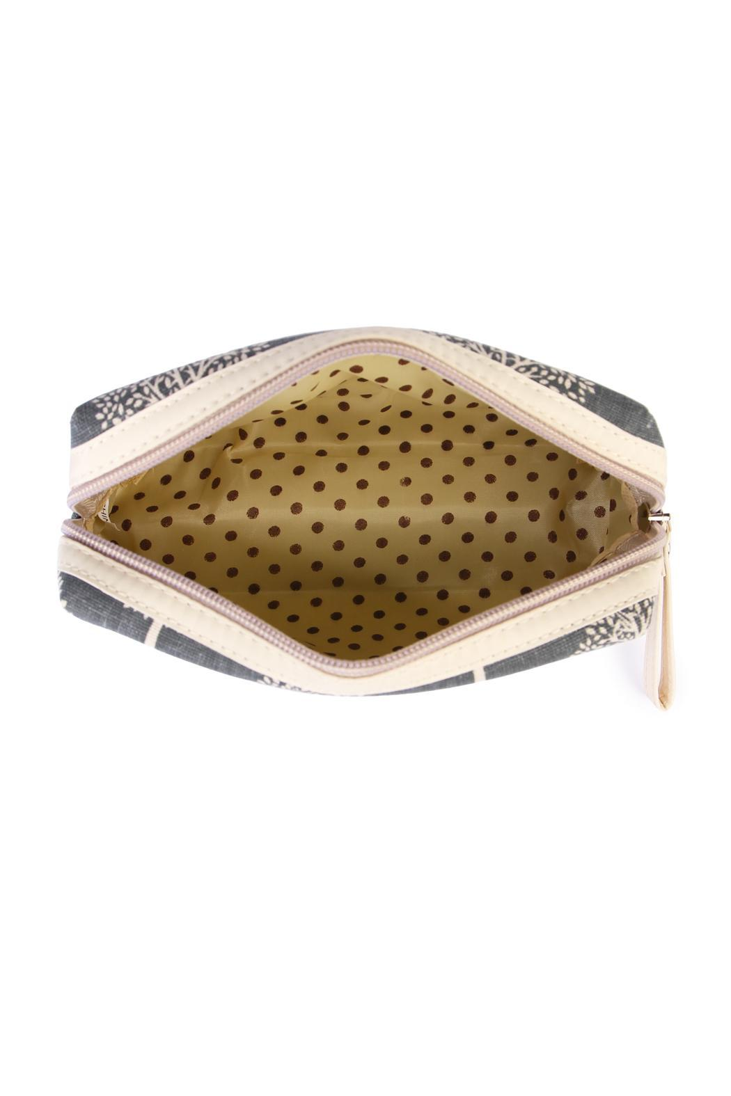 Riah Fashion Tree Cosmetic Bag - Side Cropped Image