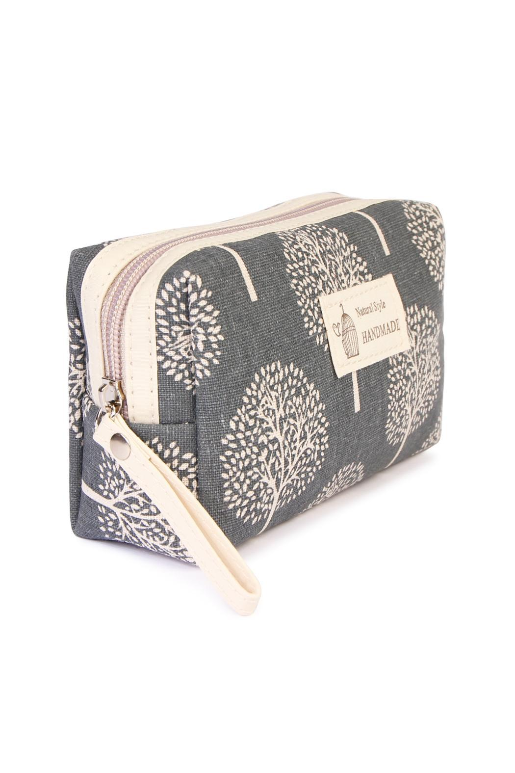 Riah Fashion Tree Cosmetic Bag - Front Full Image