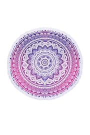 Riah Fashion Mandala Tribal Print Towel - Product Mini Image