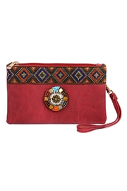 Riah Fashion Tribal Wrist Strap Bag - Product Mini Image