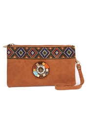 Riah Fashion Tribal-Wrist Strap Bag - Product Mini Image
