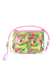 Riah Fashion Tropical-Fruits-And-Clear-3pcs-Pouches - Product Mini Image