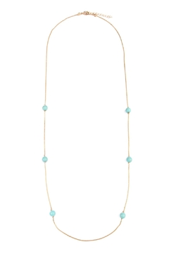 Shoptiques Product: Turquoise Beaded Necklace