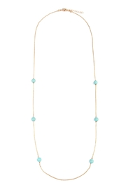Riah Fashion Turquoise Beaded Necklace - Product Mini Image