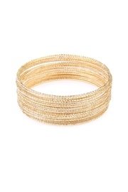 Riah Fashion Twenty Six Bangle Set - Product Mini Image