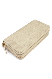 Riah Fashion Two Tone Wallet - Front cropped