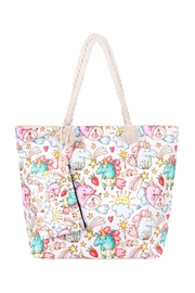 Riah Fashion Unicorn-Digital-Printed-Tote-Bag-W/-Matching-Wallet - Front cropped