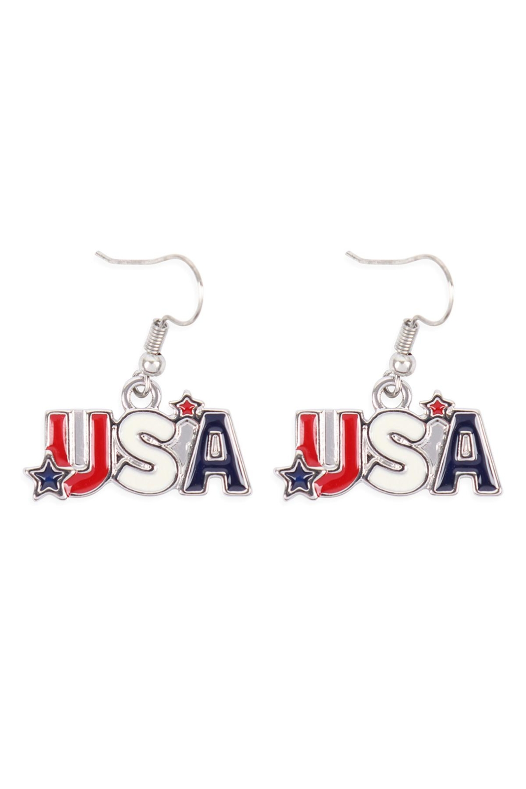 Riah Fashion Usa-With-Star-Necklace-And-Earring-Set - Side Cropped Image