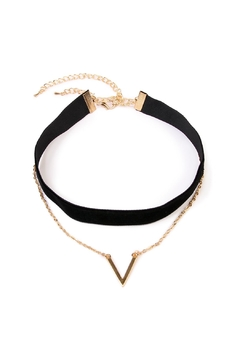 Shoptiques Product: V Layer Choker Set