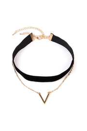 Riah Fashion V Layer Choker Set - Product Mini Image