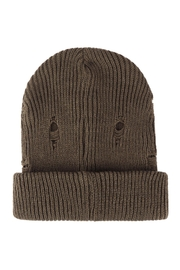Riah Fashion Vintage-Knitted-Fashion-Beanie - Front cropped