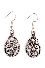 Riah Fashion Vintage Teardrop Bohemian-Earrings - Product Mini Image