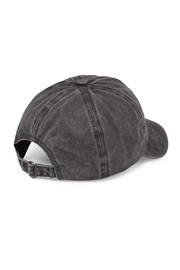 Riah Fashion Washed Out  Baseball Cap - Front full body
