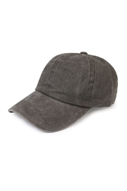 Riah Fashion Washed Out  Baseball Cap - Front cropped