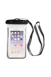 Riah Fashion Black Water Proof Phone Bag - Product Mini Image