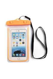 Riah Fashion Orange Water Proof Phone Bag - Product Mini Image