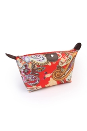 Riah Fashion Watermark Cosmetic Bag - Product Mini Image