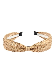 Riah Fashion Weaved Fiber Headband - Product Mini Image