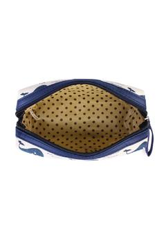Riah Fashion Whale Cosmetic Pouch - Alternate List Image