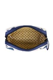 Riah Fashion Whale Cosmetic Pouch - Side cropped