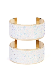 Riah Fashion Wide Arm Cuff-Bracelet - Front cropped