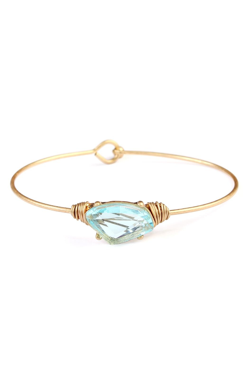Riah Fashion Wired Galactic-Shape Bracelet - Main Image