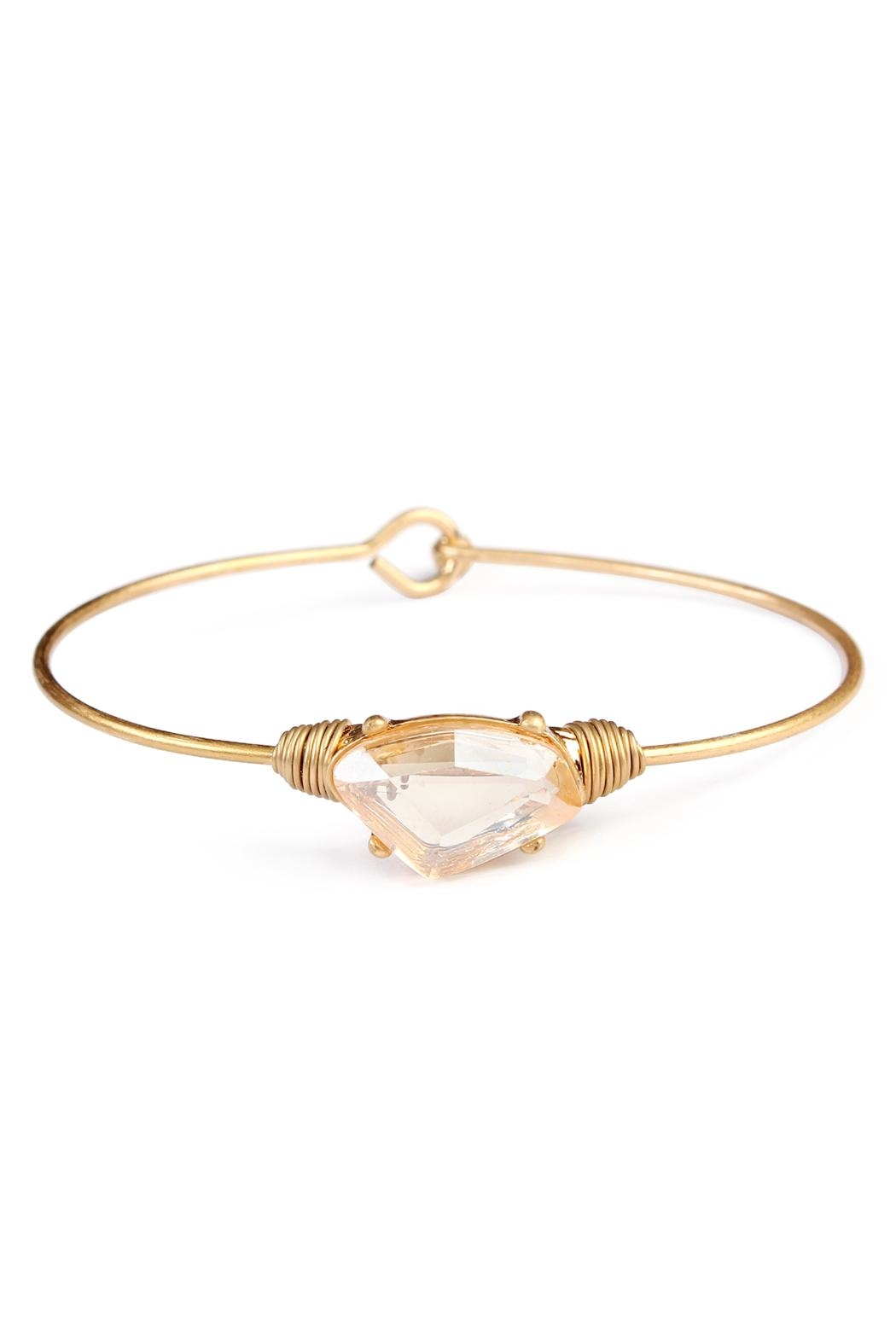 Riah Fashion Wired Galactic-Shape Bracelet - Front Cropped Image