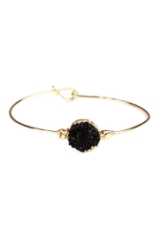 Riah Fashion Wired Round-Resin Druzy-Bracelet - Product Mini Image