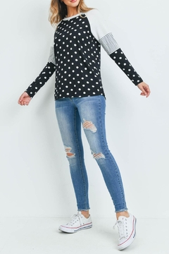 Riah Fashion With-Dots-Top - Alternate List Image