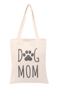 Shoptiques Product: Women's-Printe- Dog-Mom-Tote Bag