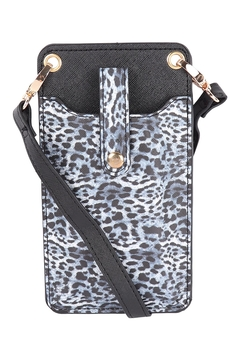 Shoptiques Product: Womens-Snake-Skin-Small-Crossbody-Cell-Phone-Bag