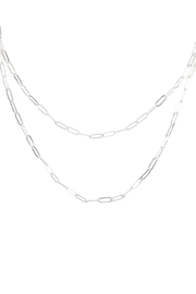 Riah Fashion Wrap-Link-Chain-Necklace - Product Mini Image
