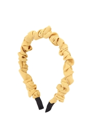 Riah Fashion Wrinkly-Fabric-Head-Band - Front cropped
