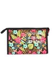 Riah Fashion Hawaiian Cosmetic Bag - Product Mini Image