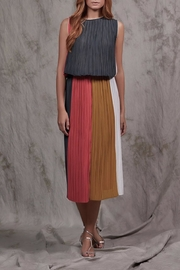 nisse Rialto Pleated Skirt - Front cropped