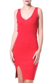 Madonna & Co Rib Cotton Dress - Front cropped
