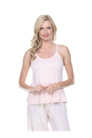 PJHARLOW RIB KNIT A-LINE CAMI - Front cropped