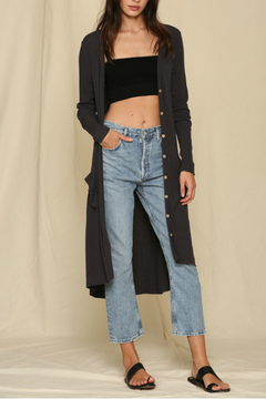 By Together  Rib Knit Long Cardigan - Product List Image
