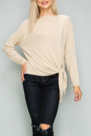 Glam Rib knit pullover - Product Mini Image