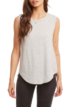 Chaser Rib Knot Back Cap Slv Shirttail Tee - Alternate List Image