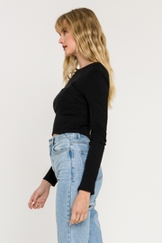 Endless Rose Rib Me The Right Way Top - Front full body