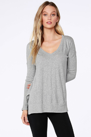 Bobi Los Angeles Rib Mix Long Sleeve - Product Mini Image