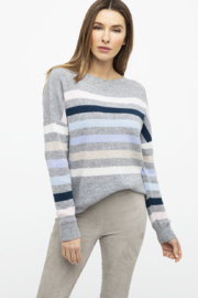 Kinross Rib Stripe Pullover - Product Mini Image