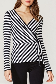 Bailey 44 Rib Stripe Top - Front cropped