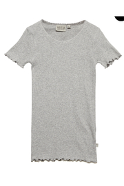 Wheat Rib T-shirt - Front cropped