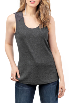 Lola & Sophie Rib Tank with Satin Back - Product List Image